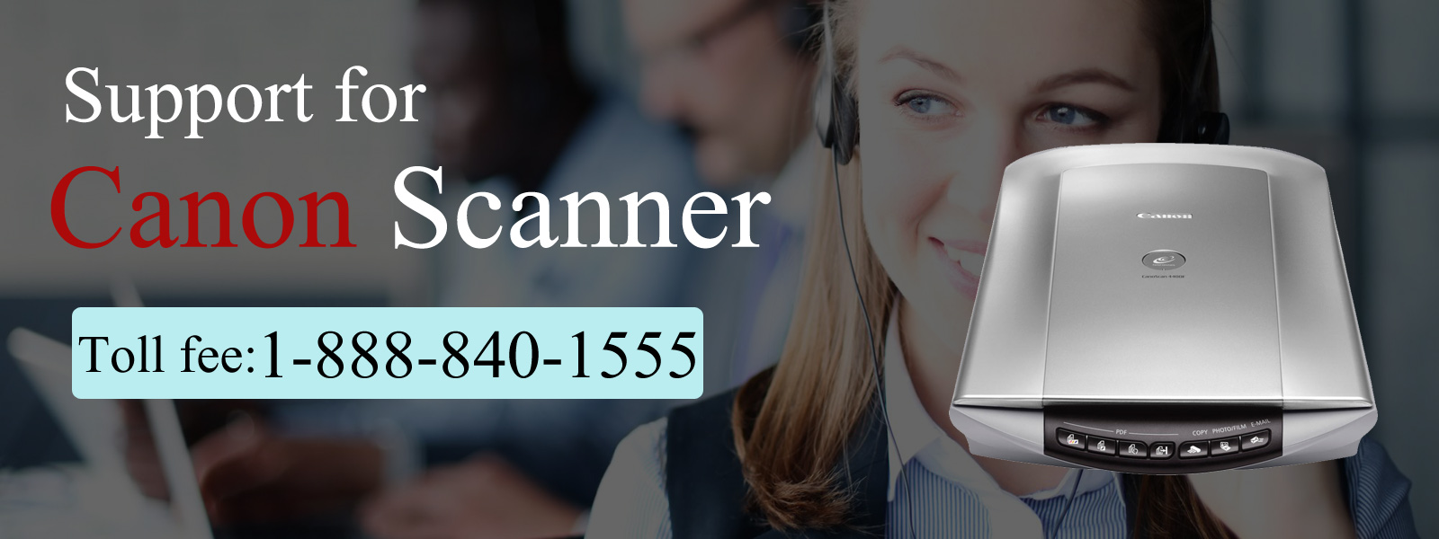 Canon Scanner Support Phone Number