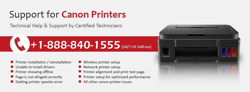 Canon Priner Customer Support