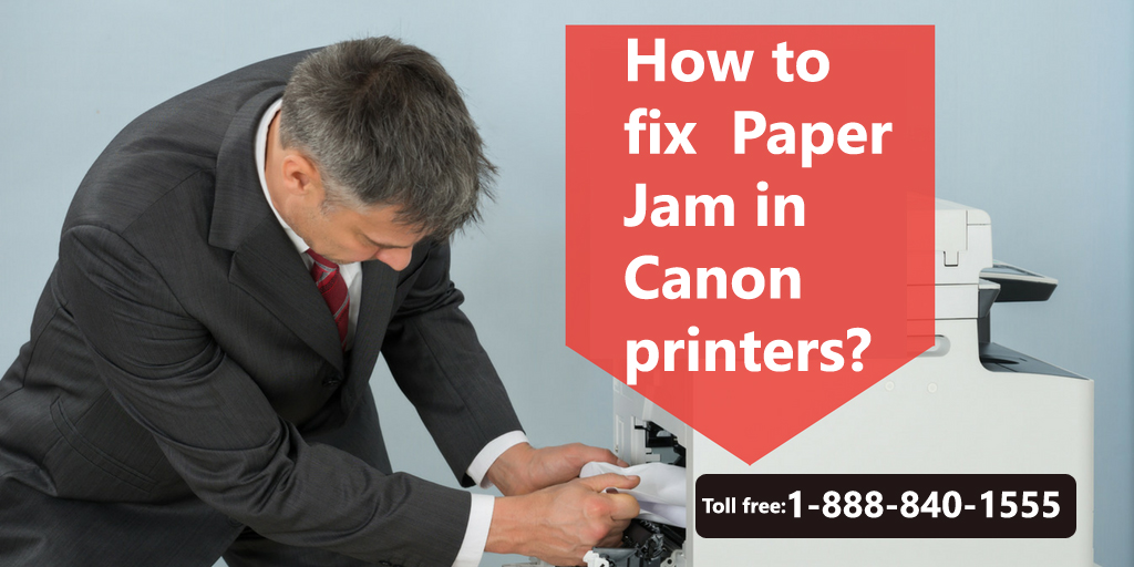 How to fix Paper Jam Issues in Canon printers