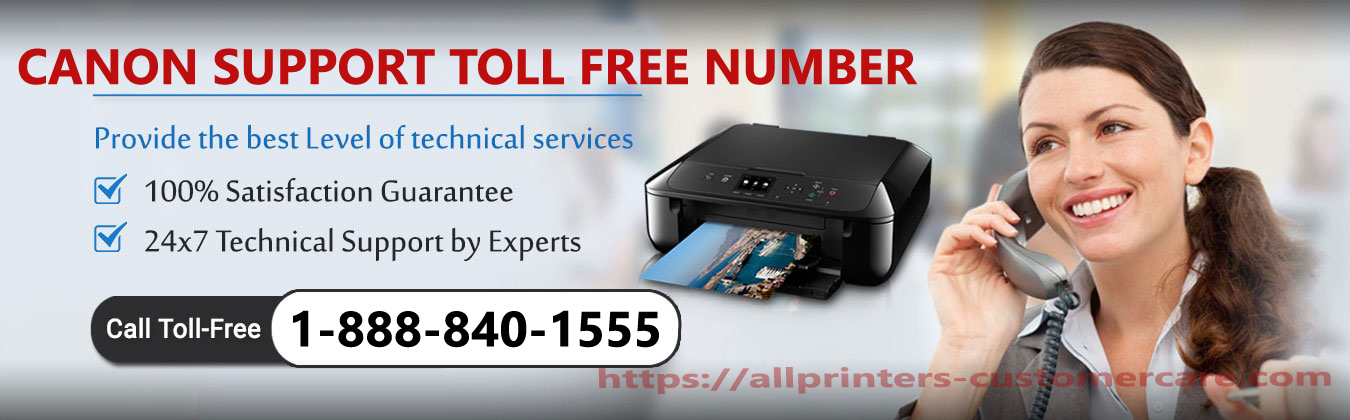 canon support toll free number
